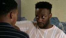 Coronation Street fans fear for James Bailey as his brother Michael overhears him talking about being gay with Bethany Platt