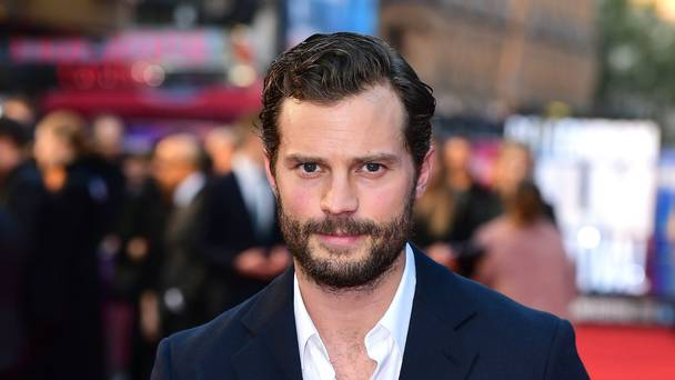 Dornan heads home with Blunt for family feud flick