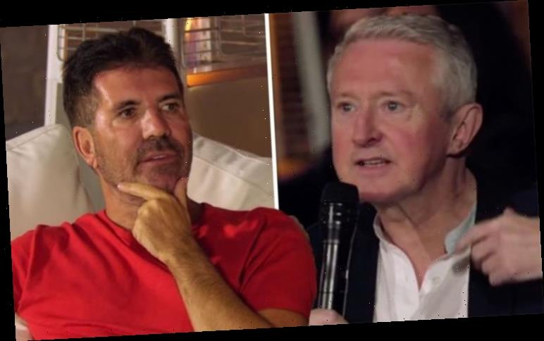 X Factor's Simon Cowell takes swipe at Louis Walsh appearance 'What have you had done?'