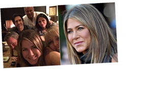 Casual! Jennifer Aniston's First-Ever Instagram Post Is a Selfie With the Entire Friends Cast