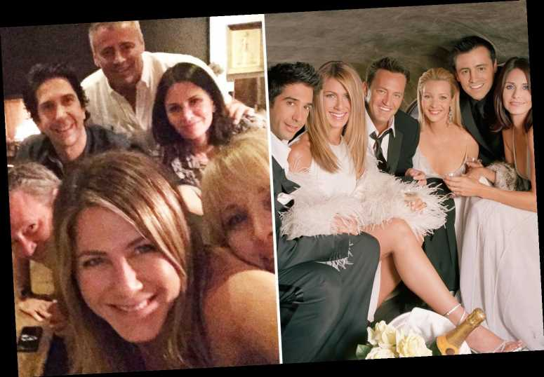 Jennifer Aniston joins Instagram with photo of reunited Friends cast and fans are convinced she's announcing show is coming back – The Sun