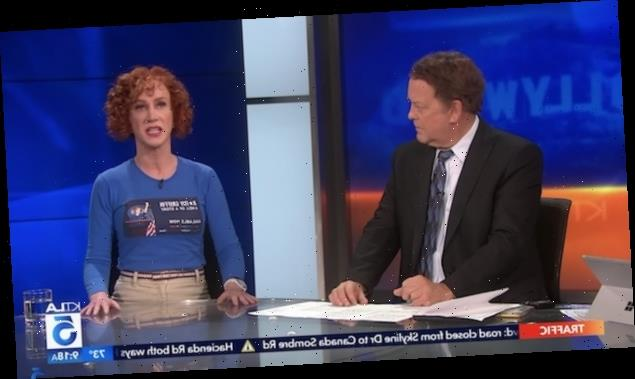 Kathy Griffin Has Tense Exchange With TV Anchor About Being a Woman in Comedy