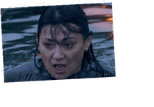 Emmerdale fans confused at how Mucky Moira survived 15 minutes under water – The Sun