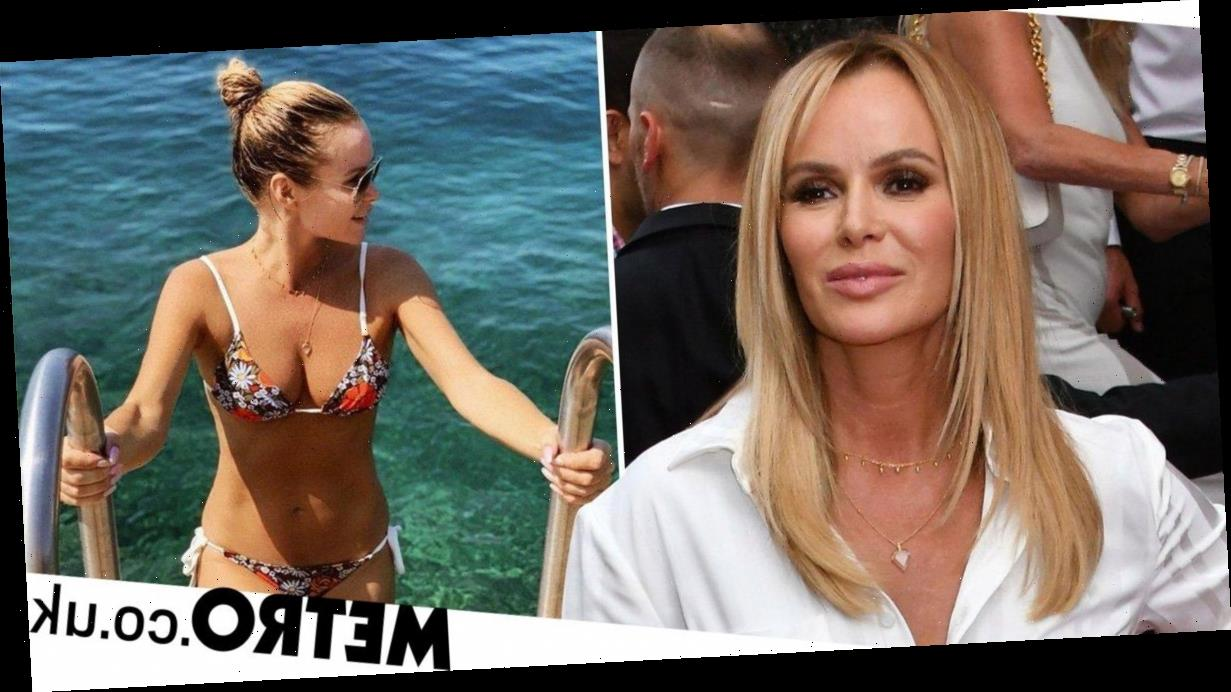 Amanda Holden rushed into surgery after breaking leg in two places