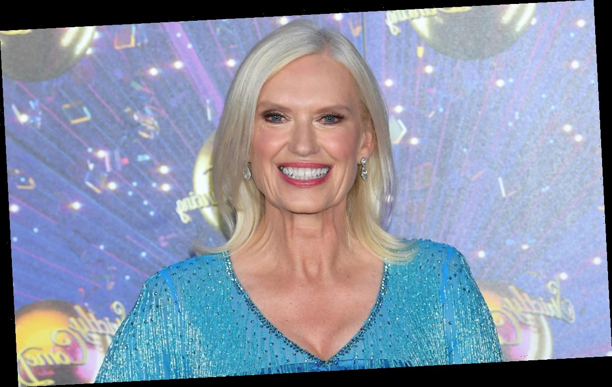 Strictly's Anneka Rice reveals the extent of her bruises after intense rehearsal with Kevin Clifton