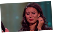 X Factor: Celebrity fans brand show 'fake' after crying Olivia Olson is sent home over Martin Bashir