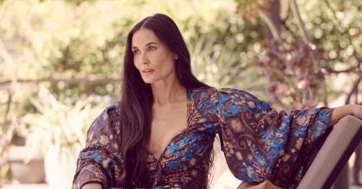 Demi Moore Shares a Peek Behind the Scenes of Her No. 1 Best Seller