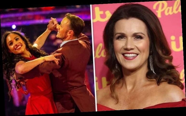 Susanna Reid admits she 'feels' for Alex Scott as she wades into Kevin Clifton rumours