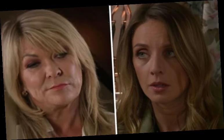 Emmerdale spoilers: Kim Tate to conceal baby bombshell in Andrea's hour of need?