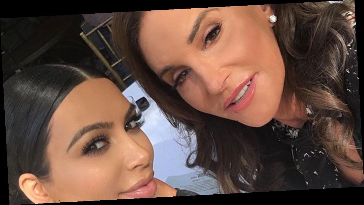 Kim Kardashian 'hysterical' when she first saw Caitlyn Jenner dressed as woman