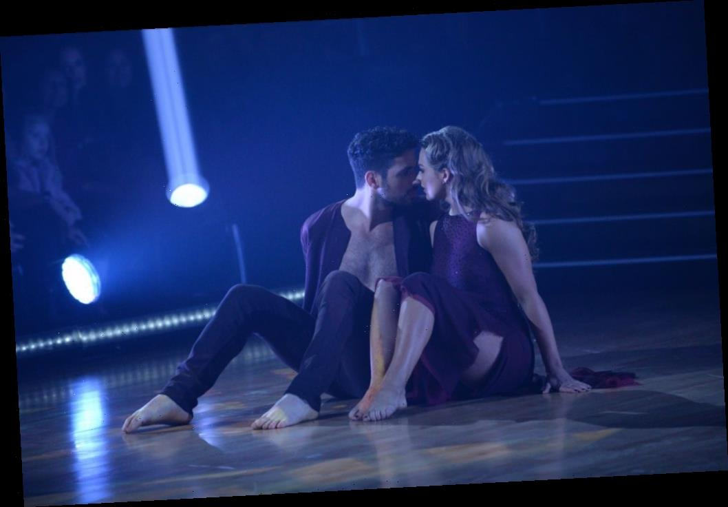 Hannah Brown Performs An Emotional Dance About Jed Wyatt Heartbreak On 'DWTS'
