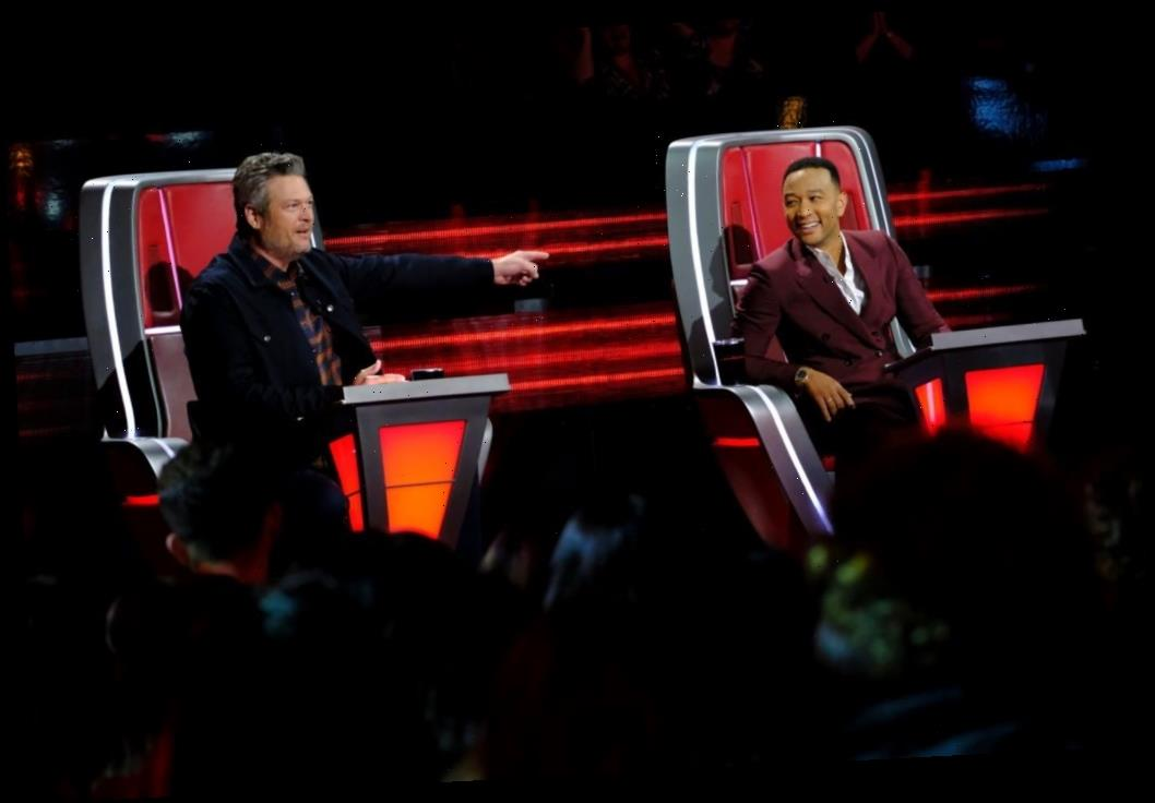 'The Voice': John Legend Jokes About Learning Blake Shelton's Sexy Ways to Earn People's Sexiest Man Alive