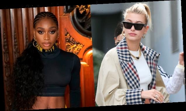 Hailey Baldwin Quickly Defends Normani After 'Racist' Critic Insists She Shouldn't Have Dressed Up As Cher