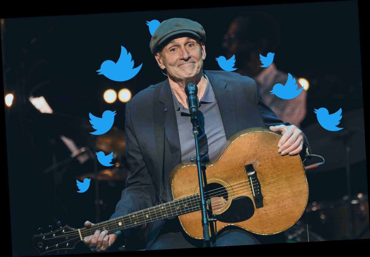 'Handy Man': 5 Practical Lessons We Learned From James Taylor's Twitter