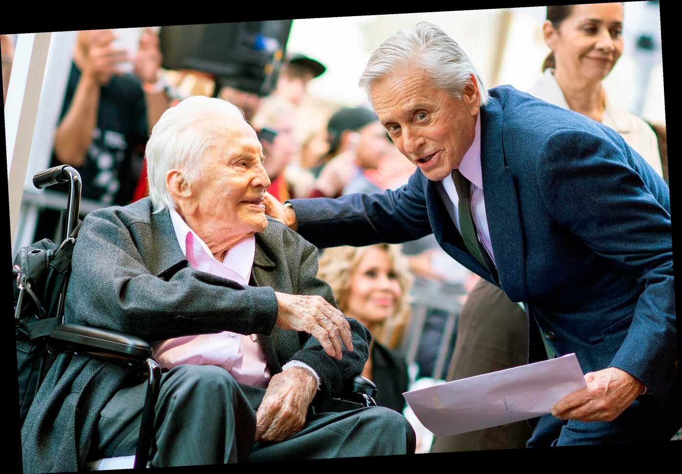 Michael Douglas Says Dad Kirk Douglas Is 'Begging' Him for a Quiet 103rd Birthday Party