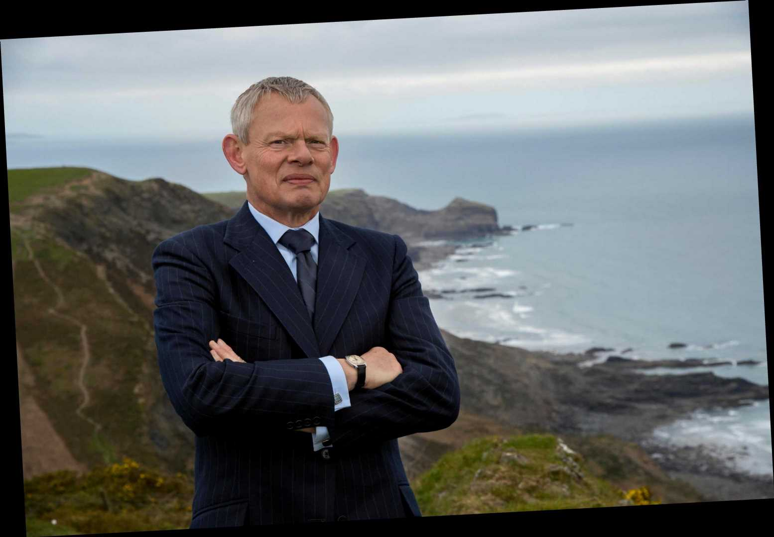 How old is Martin Clunes, when is he in ITV's Warren and who is his wife Philippa Braithwaite?