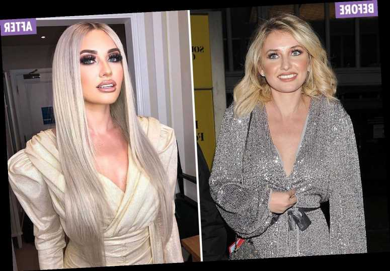 Love Island's Amy Hart looks completely unrecognisable after glamorous makeover
