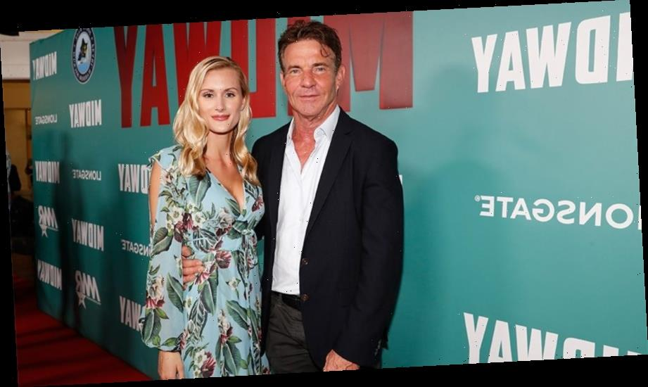 Dennis Quaid, 65, defends age gap between himself and fiancee Laura Savoie, 26: 'I can't even get angry'