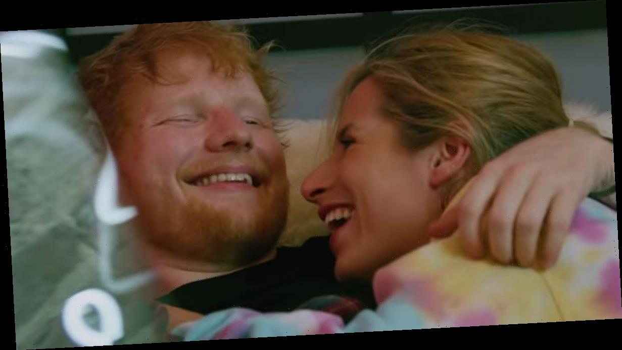 Ed Sheeran's wife features in his new music video about couple's falling in love