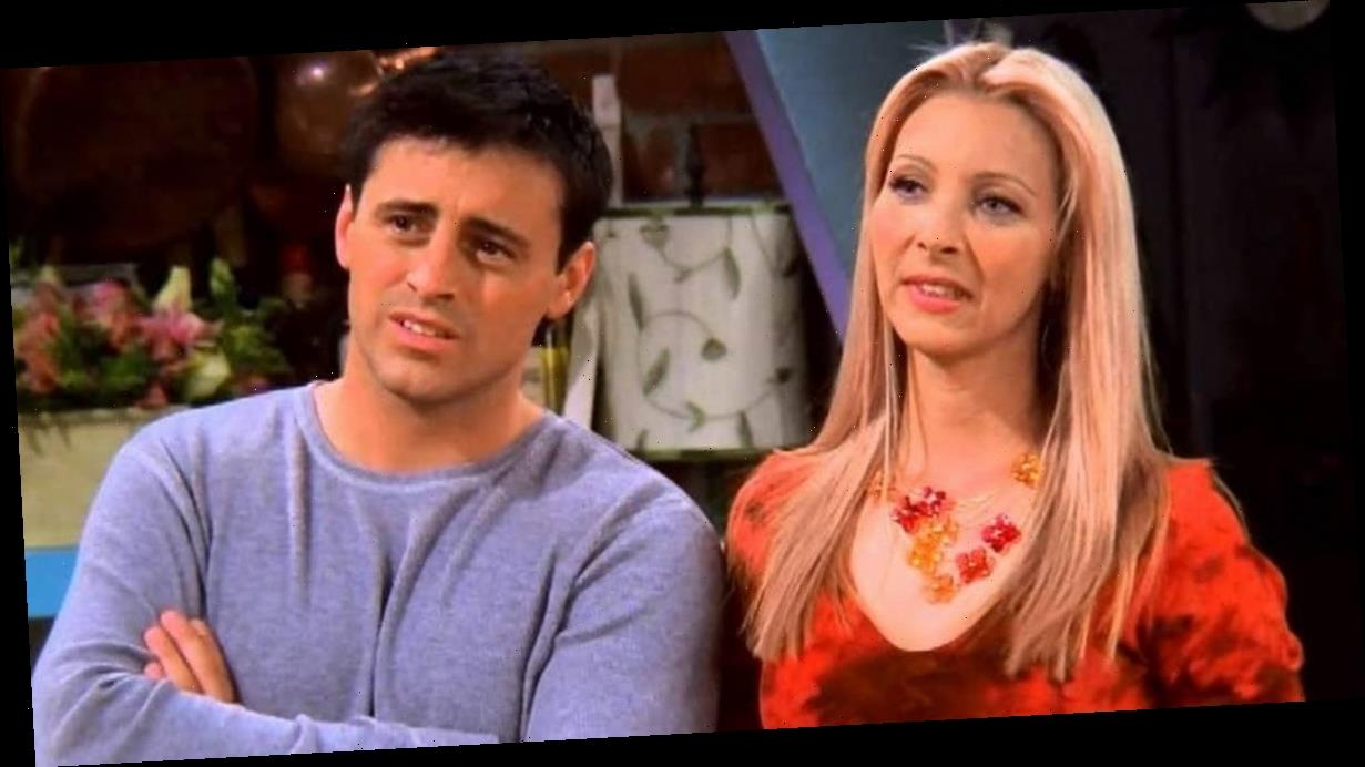 Friends writer lifts lid on the odd reason why Phoebe and Joey never hooked up