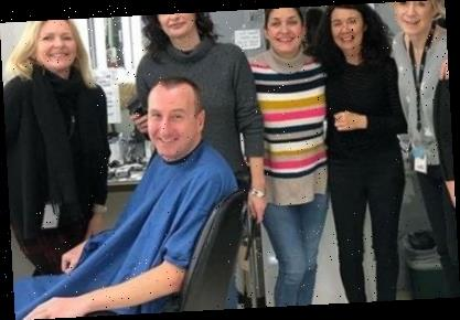 I'm A Celeb's Andy Whyment returns to Coronation Street set for first time since the jungle – and gets his free haircut – The Sun