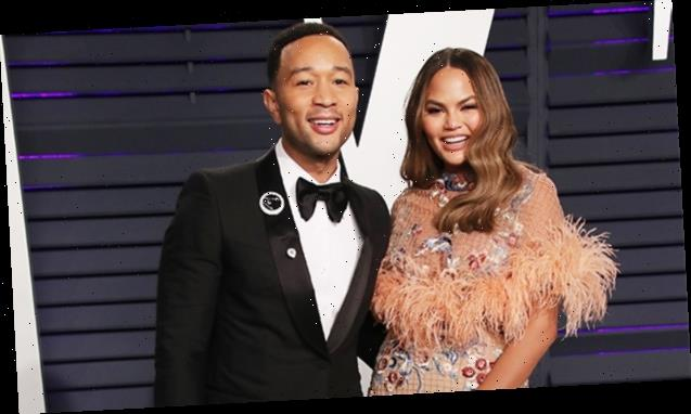 Chrissy Teigen & John Legend Prove They're The 'Worst Dinner Guests' By PDAing In Kris Jenner's Home