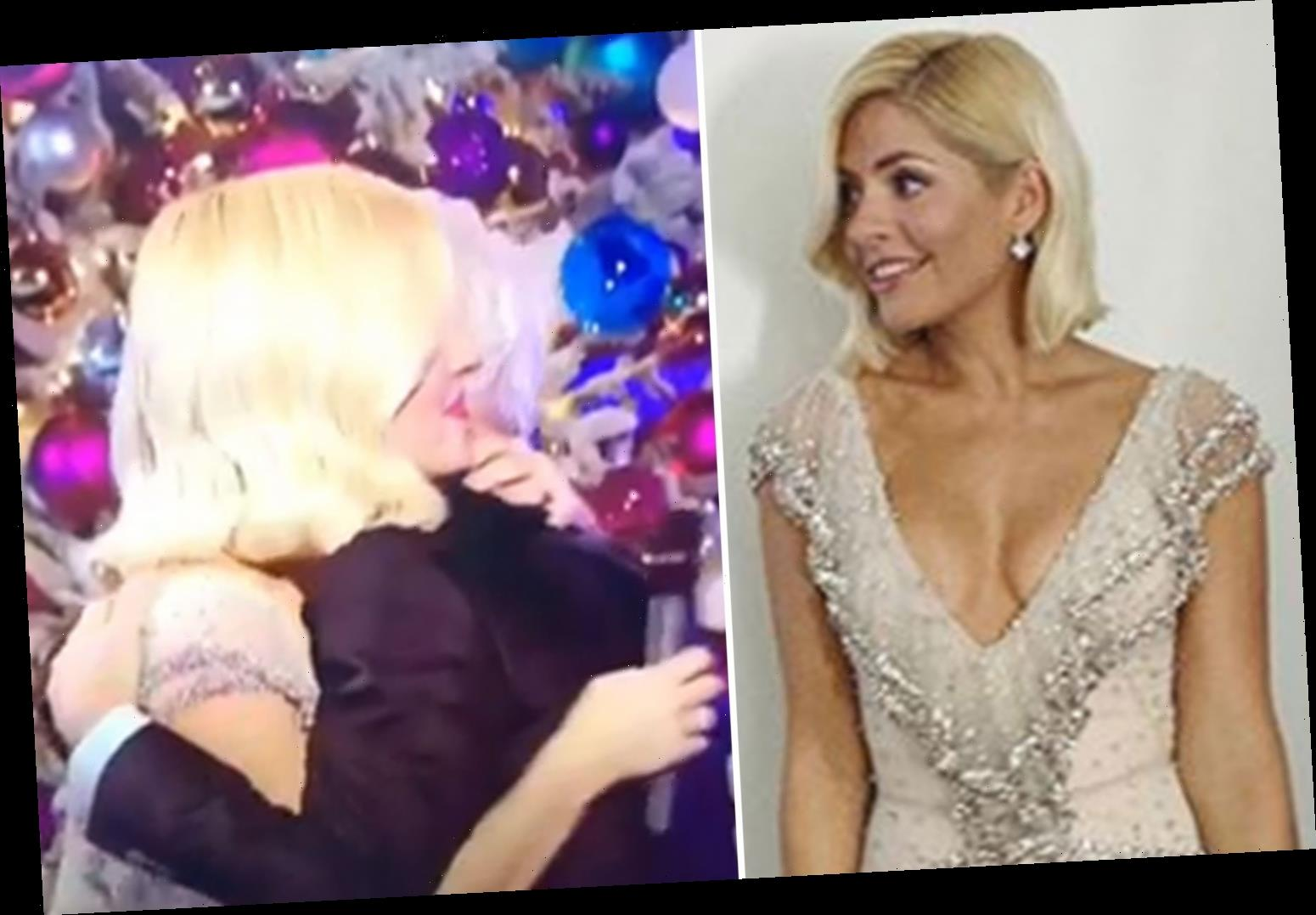 Holly Willoughby dismisses Phillip Schofield feud claims as she shares video of them singing and hugging