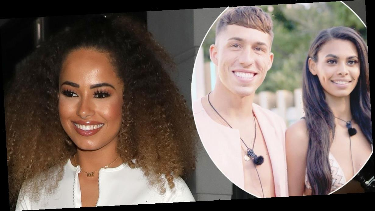 Love Island's Amber Gill says Connor Durman is 'intense' as she warns Sophie Piper to 'be careful'