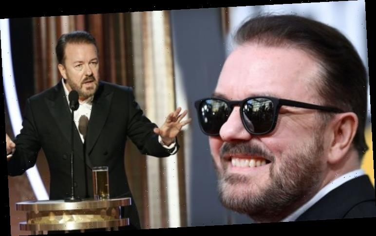 Ricky Gervais: Golden Globes Awards show host takes jaw-dropping swipe at Jeffrey Epstein