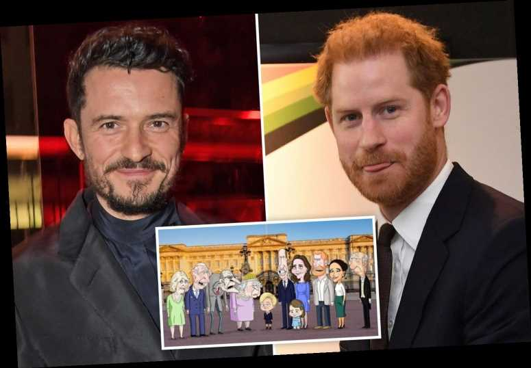 Orlando Bloom cast as Prince Harry in new comedy series from creators of Family Guy