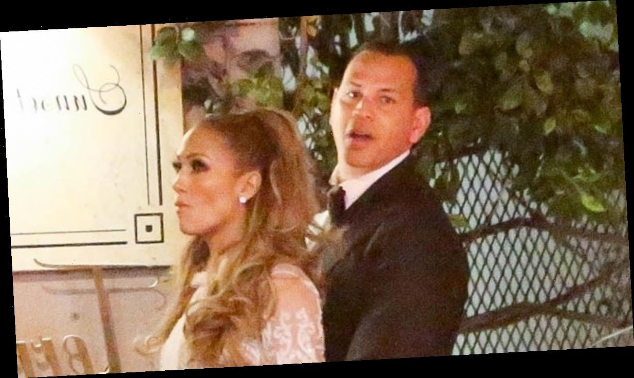 Jennifer Lopez & Alex Rodriguez Keep the Party Going at Golden Globes 2020 After Party!
