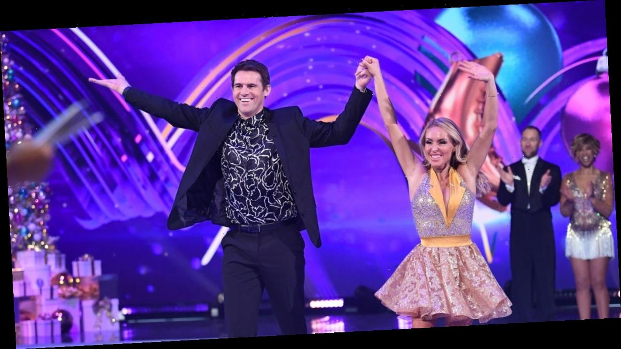 Dancing On Ice's Kevin Kilbane and Brianne Delcourt engaged after two months