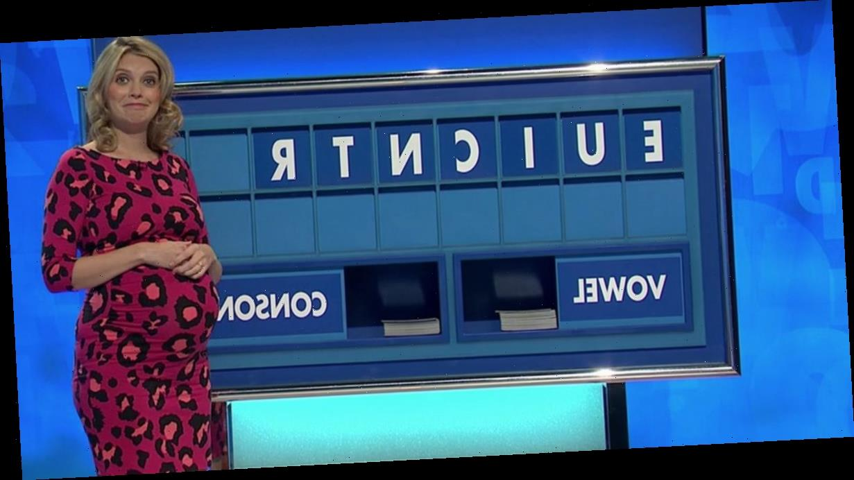 Rachel Riley's face is a picture as she clocks very rude word on Countdown