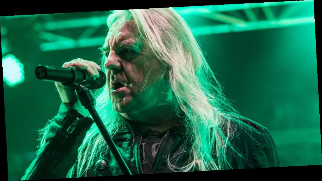 Saxon's Biff Byford gives vocal cords a rest following triple heart bypass