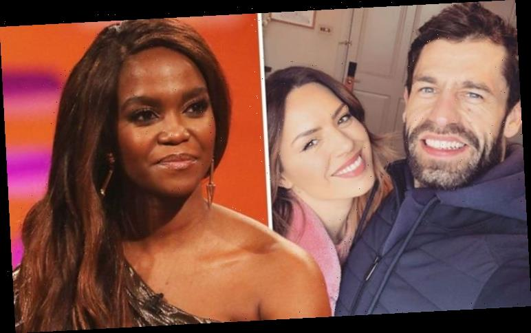 Kelvin Fletcher in loved-up snap with wife as Oti Mabuse stays quiet amid nightcap drama
