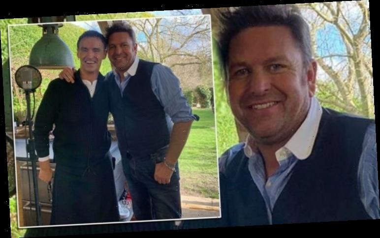James Martin: Saturday Morning chef causes a stir as he displays weight loss behind scenes