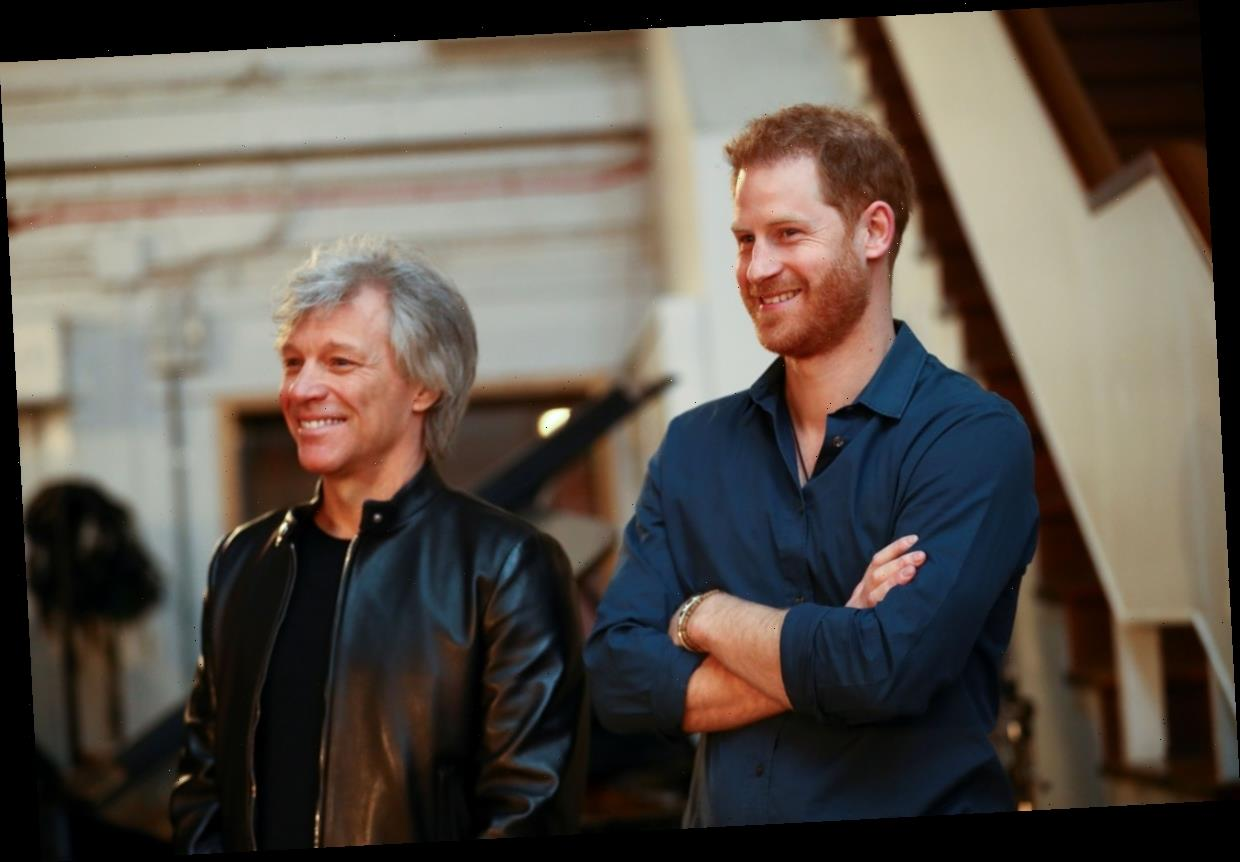 Will Prince Harry Sing A Song With Bon Jovi? This Video Has Fans Confused