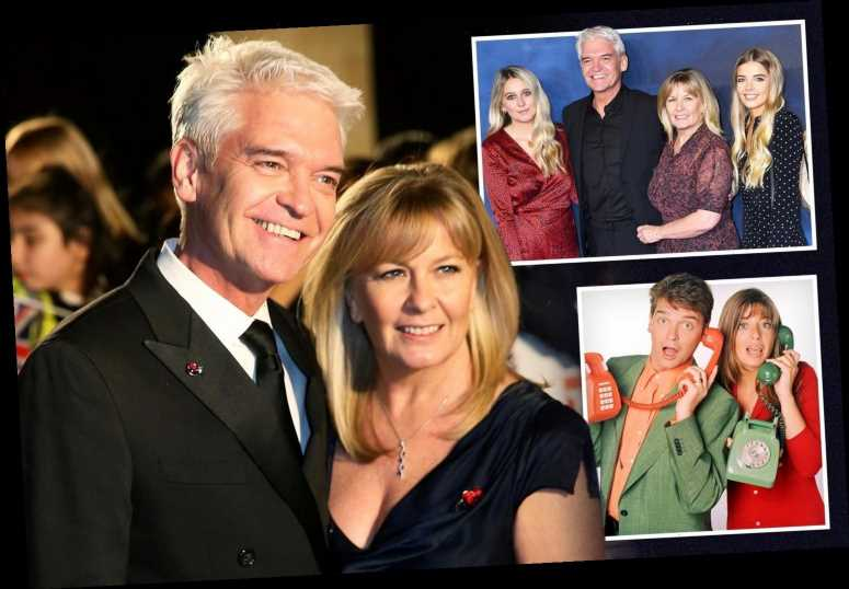 Phillip Schofield pays tribute to 'kindest soul' wife after coming out as gay – The Sun