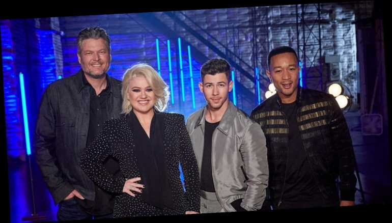 Nick Jonas & 'The Voice' Coaches Team Up To Perform His Hit Song 'Jealous'