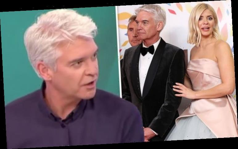Phillip Schofield reveals whether he ever 'rows' with Holly Willoughby: 'She'll push me'