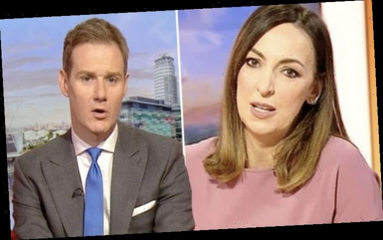 Dan Walker: BBC host blasts troll who suggests he is having an affair with Sally Nugent