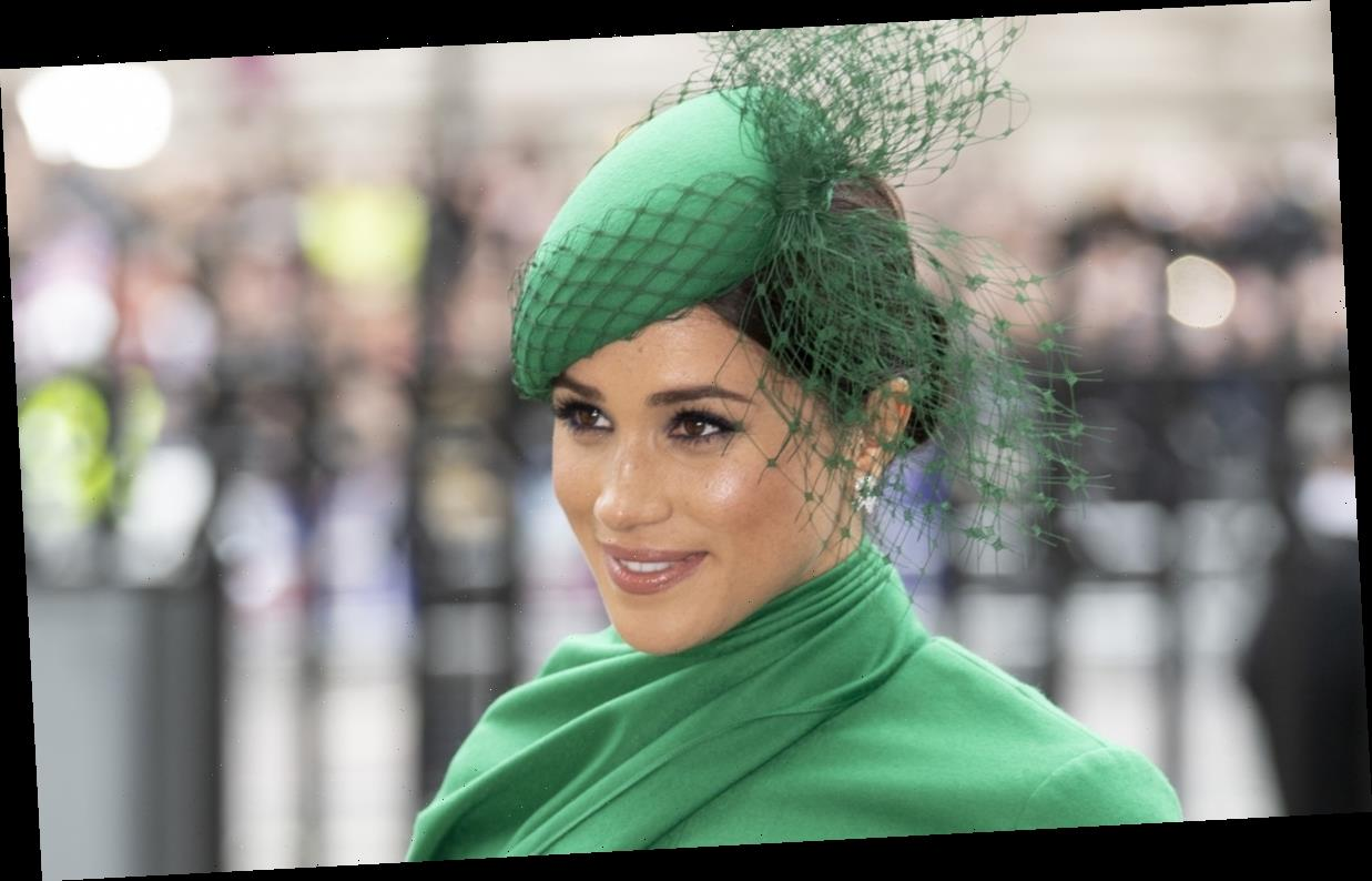 Meghan Markle's Green Dress At The 2020 Commonwealth Day Service Is To Die For
