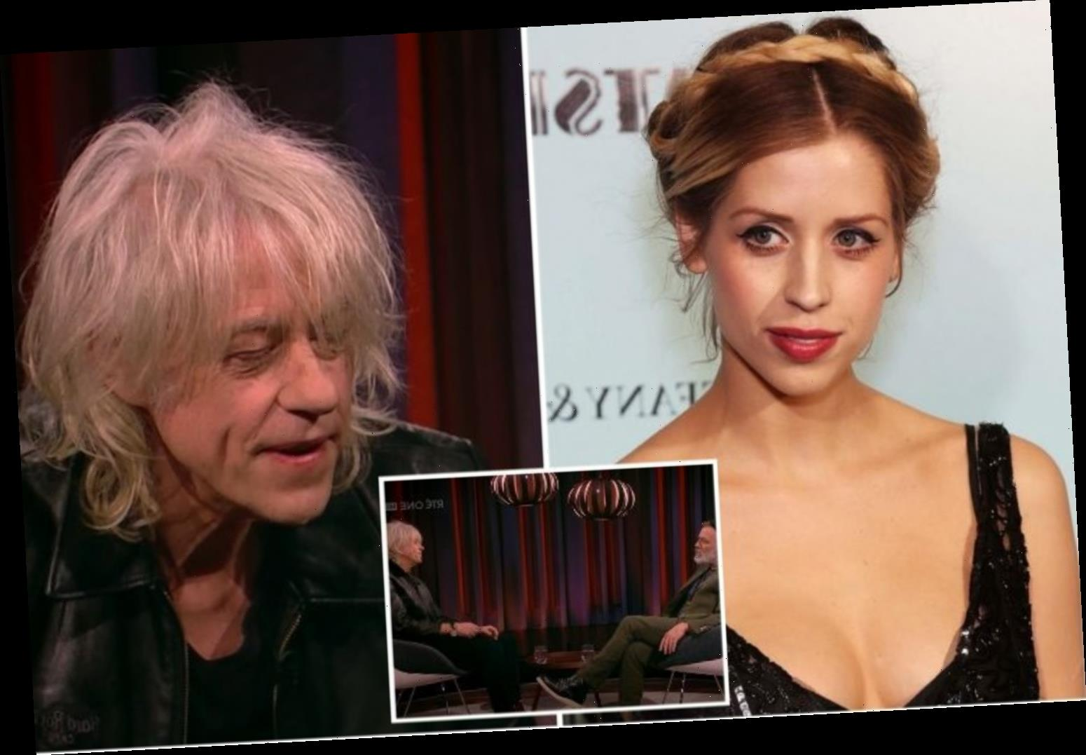Bob Geldof opens up about 'unbearable' grief of daughter Peaches' heroin death in emotional television appearance – The Sun