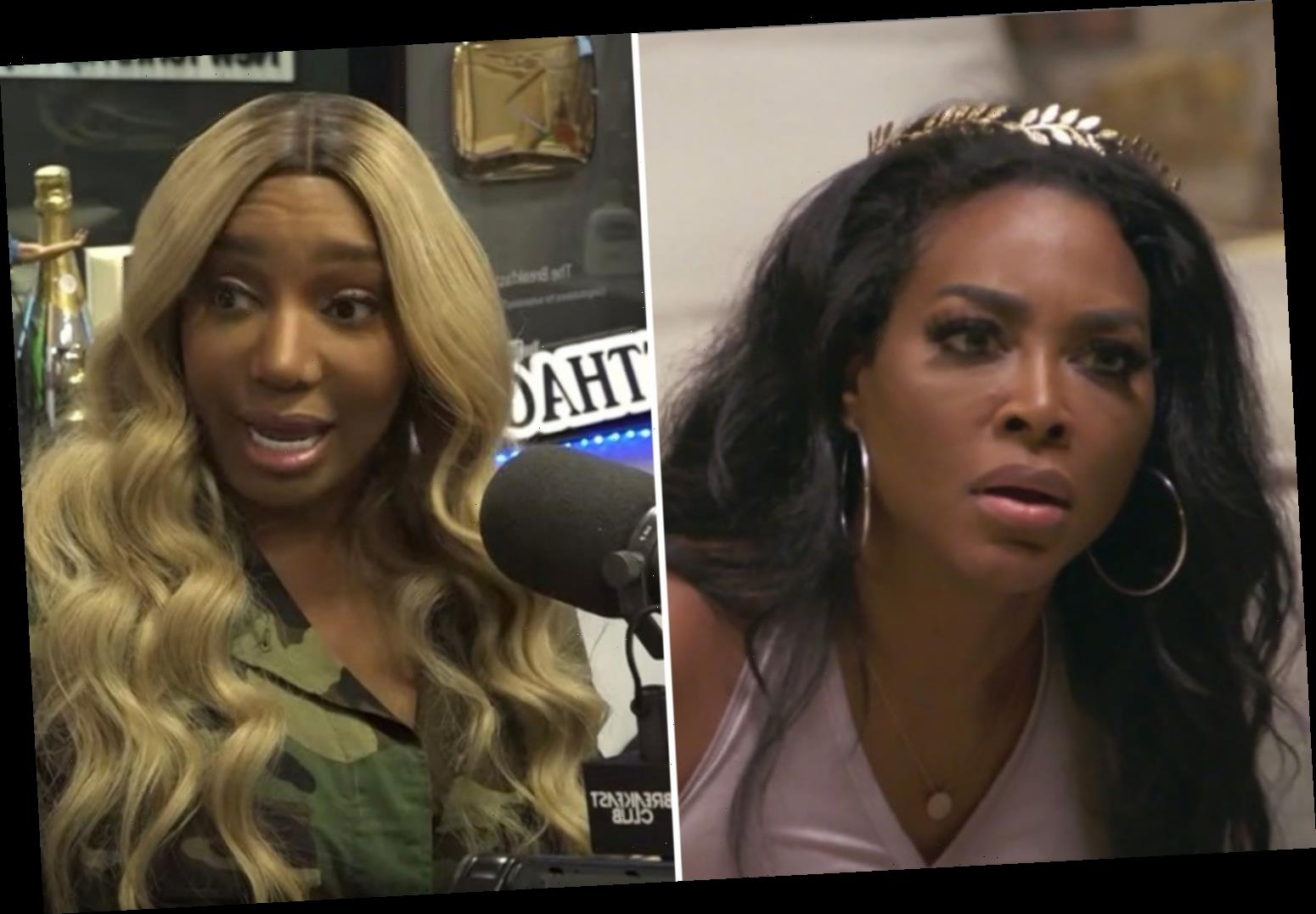 RHOA's Kenya Moore claims she'll 'expose fake friendships' and 'cut off the snake's heads' during postponed reunion – The Sun
