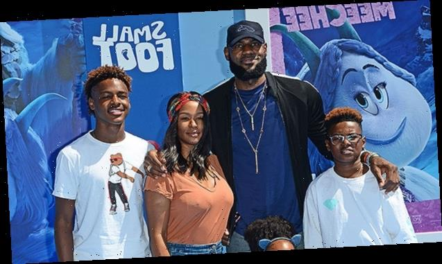 LeBron James Does Adorable TikTok Dance With 3 Kids After Gushing About Wife Savannah