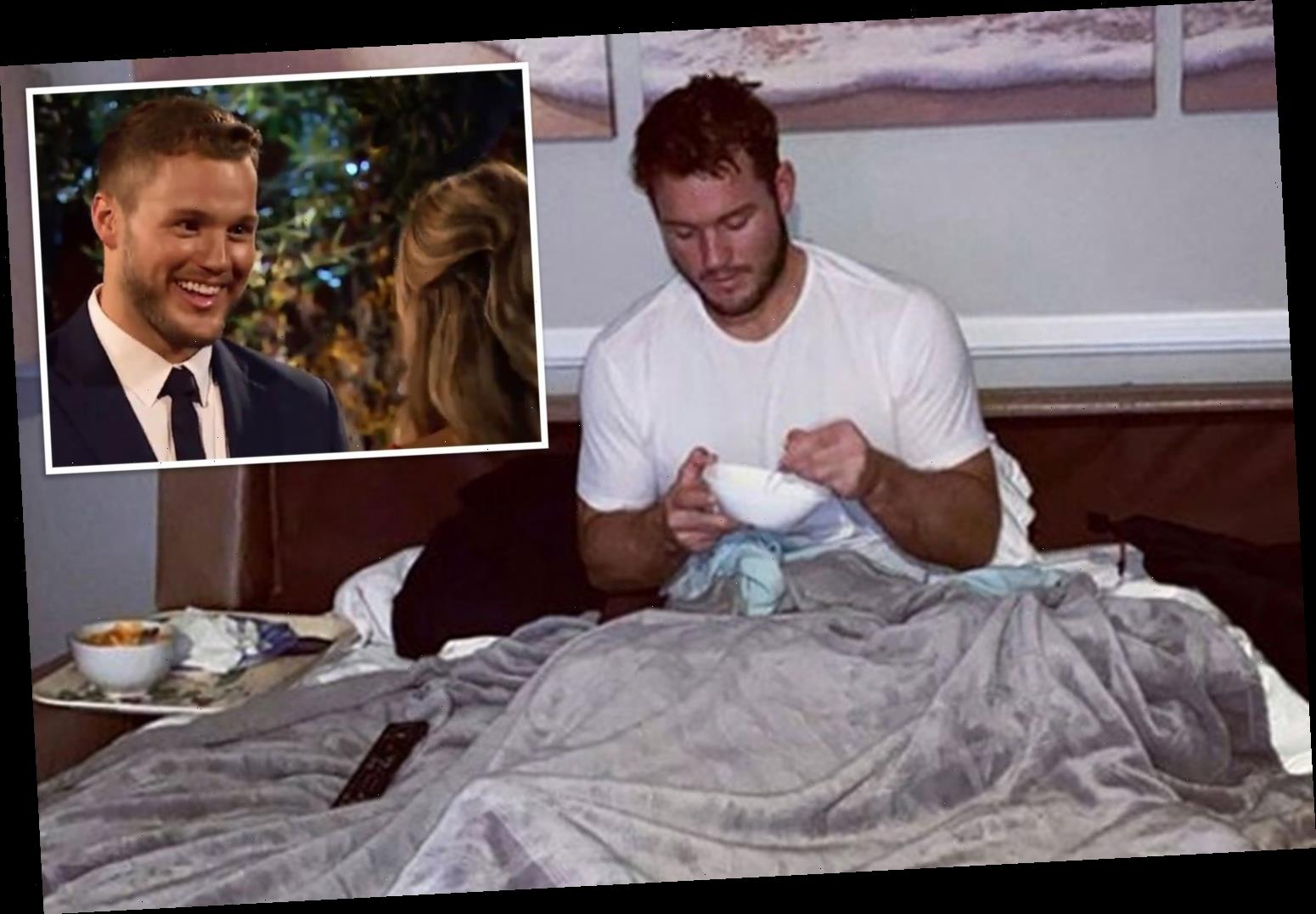 Bachelor Colton Underwood says he 'only has access to 20 per cent of his lungs' amid his coronavirus battle