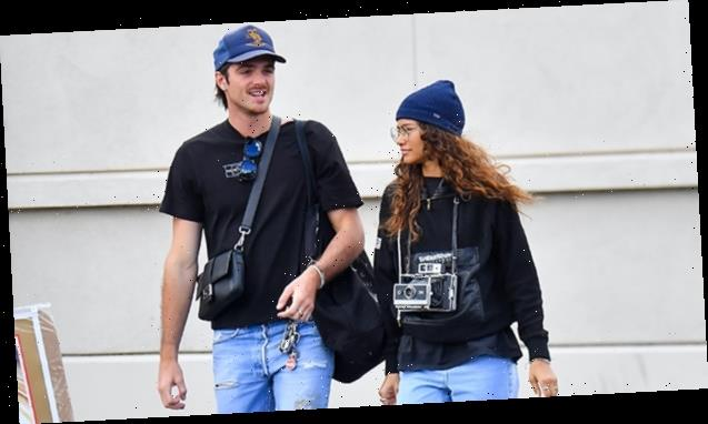 Zendaya & Jacob Elordi Couple Up For Sweet Shopping Date At Local Flea Market — See Pics