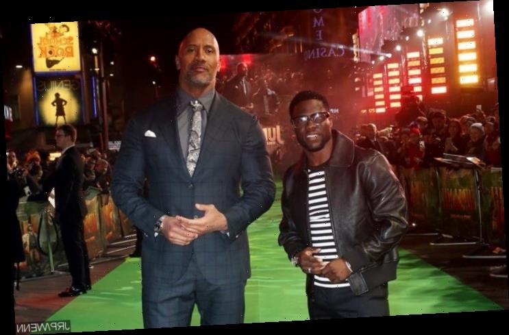Kevin Hart Throws Playful Jab at Dwayne Johnson Over Filming of Action Scenes