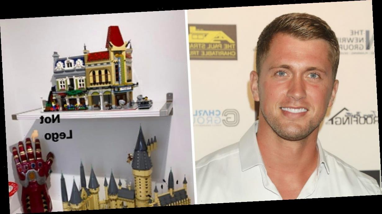 Dan Osborne reveals inside his incredible Lego room at home as he proudly admits he is a 'geek'