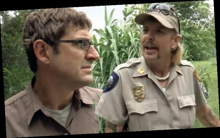 Tiger King: Watch moment Joe Exotic jokes about shooting Louis Theroux
